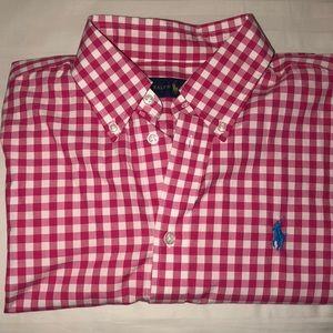 Ralph Lauren Gingham Style Long Sleeve